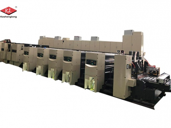 4 Color Automatic Printing Slotting and Die-cutting Machine