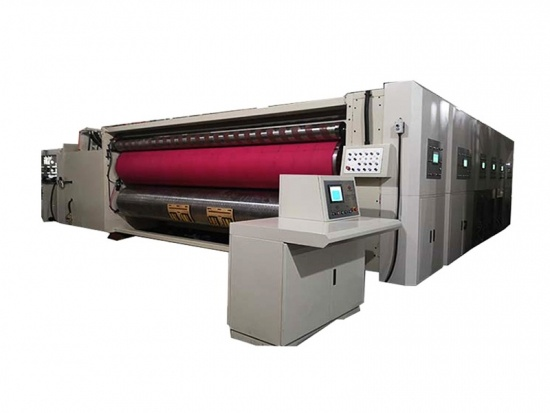 Machine de slotter d'imprimante flexo automatique 4 couleurs
